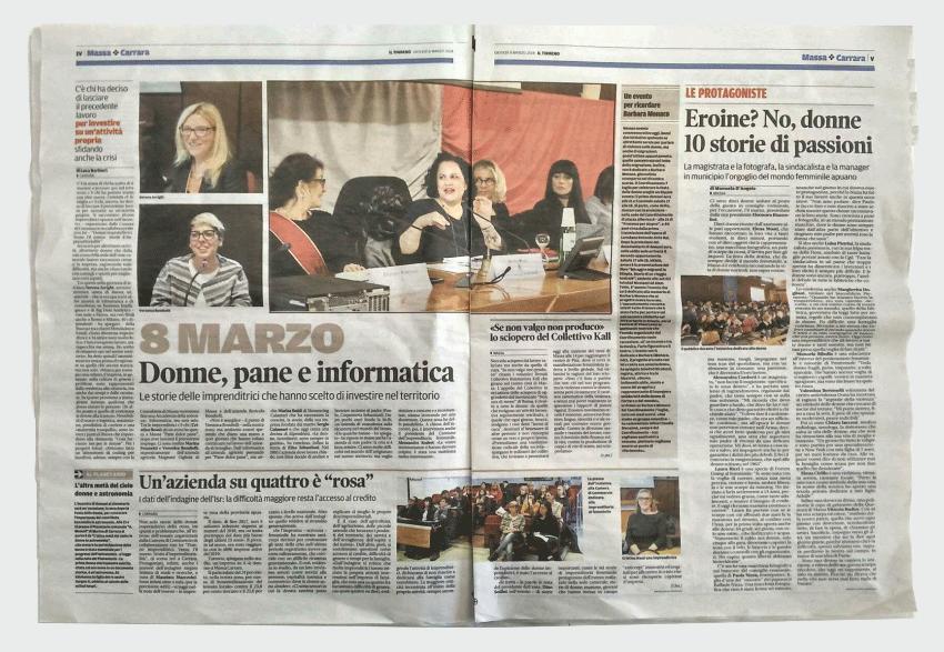 "Serena Arrighi CEO BNova al Convegno ""Donne imprenditrici"""