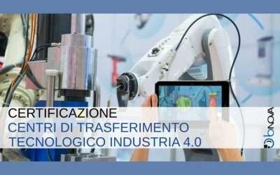 BNova è tra le 9 aziende in Italia ad essere Centro di Trasferimento Tecnologico