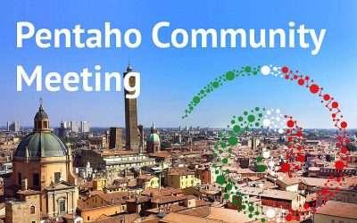 Presenteremo la console BNova DFC al Pentaho Community Meeting – 24 Novembre, Bologna