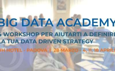 BNova organizza la nuova edizione della Big Data Academy, il 28 Marzo e il 4-11-18 Aprile a Padova