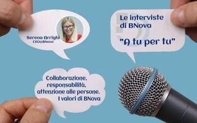 Collaborazione, responsabilità, attenzione alle persone. I valori di BNova