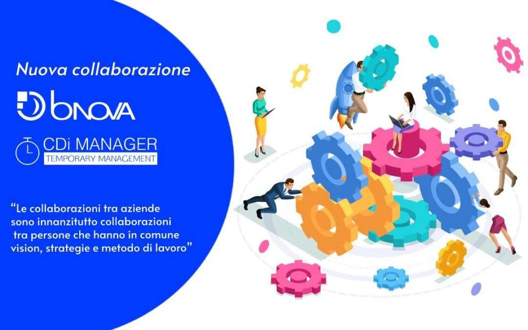 BNova e la nuova collaborazione con un partner strategico CDi Manager