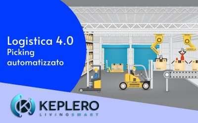 Keplero: magazzini più efficienti con il picking automatizzato