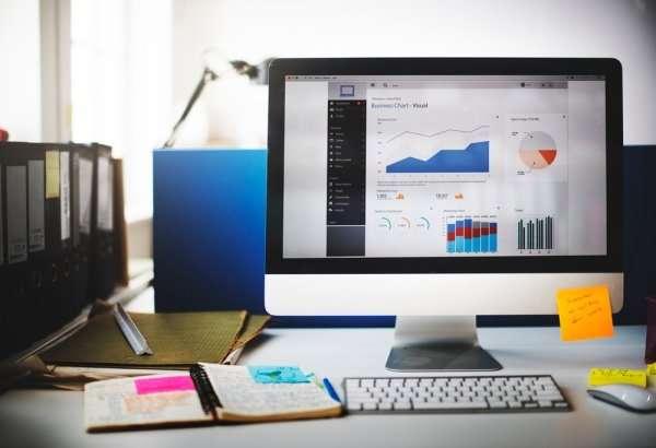 Esempio di dashboard per il controllo delle performance aziendali grazie all'utilizzo dei Big Data Analytics