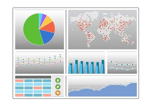 Grafici e modelli per la visualizzazione dei dati esempi